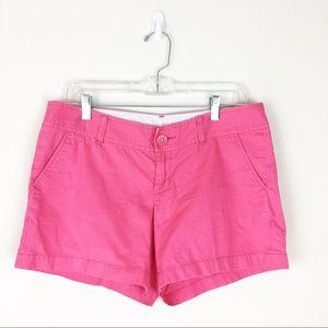 Lilly Pulitzer Pink Shorts Sz 8 The Callahan